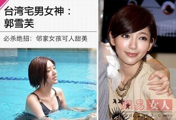 台湾新宅男女神排行榜出炉宅女生神素颜照令qq小着头像熊男女抱图片