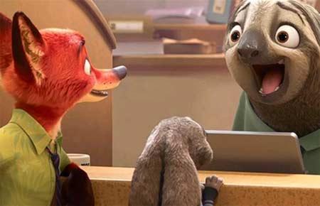 《疯狂动物城》票房过10亿 破内地动画电影票房纪录