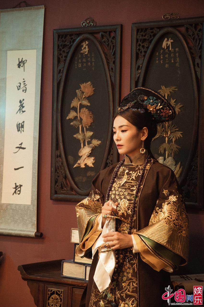 申博总网游戏刘涛清装造型曝光 古典韵味十足颜值超能打